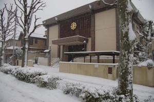 雪景色の教会
