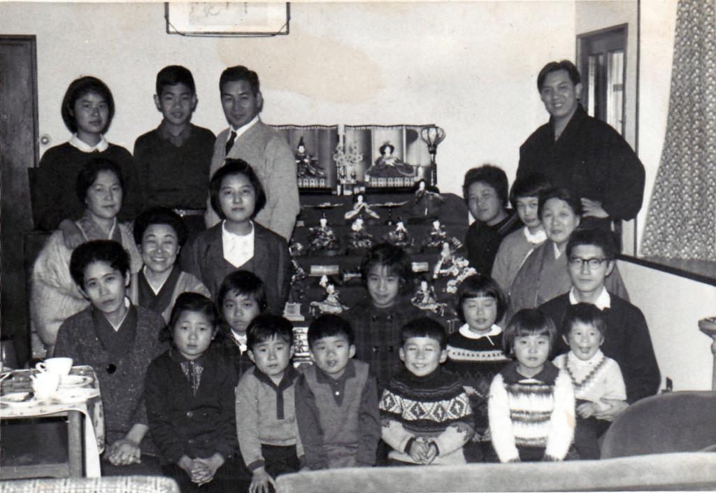 昭和42年当時のひな祭りの集い