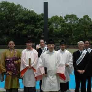 終戦60年慰霊祭 長崎爆心地公園