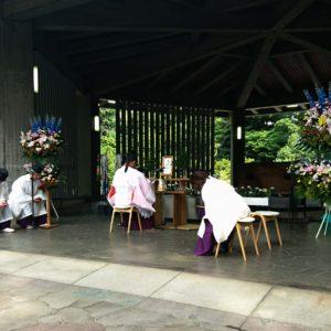 金光教東京平和集会 千鳥ケ淵戦没者墓苑