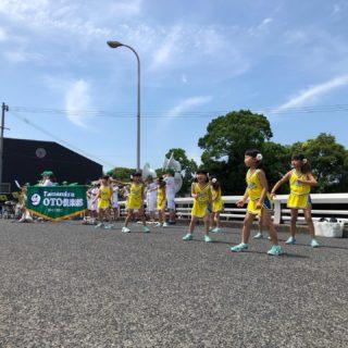 立教160年奉祝、ご霊知の各場所だ始まっています。 金光駅前.Tamamizu OTO倶楽部