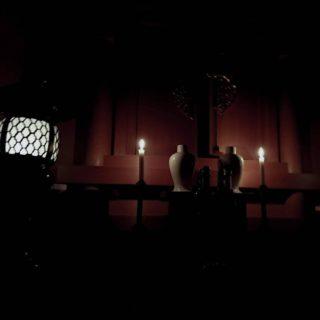 今宵は遷霊式、五柱の御霊神さまを祖霊殿にお祀りいたしました。