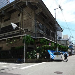 大阪なんばのど真ん中。難破教会にお引き寄せ頂きました。