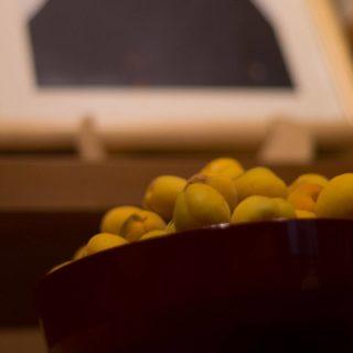 ご命日に梅の香り。御霊神さま、あなたと共に。