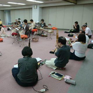 銀座教会で典楽会関東支部夏の講習会でした。 常盤台教会からは、3名が参加しました。