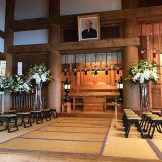 泉尾教会 三宅歳雄大人之霊神二十年祭 14:00より執り行われます。